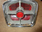 1963 Plymouth Fury Right Hand Taillight Lens, Bezel & Housing