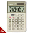 Canon LS154TG Handheld Calculator 12-Digit LCD [3 PACK]