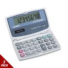 Casio SL200TE Handheld Foldable Pocket Calculator 8-Digit LCD [3 PACK]