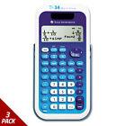 Texas Instruments TI-34 MultiView Scientific Calculator 16-Digit LCD [3 PACK]
