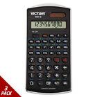 Victor 930-2 Scientific Calculator 10-Digit LCD [3 PACK]