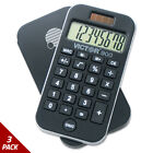 Victor 900 Antimicrobial Pocket Calculator 8-Digit LCD [3 PACK]