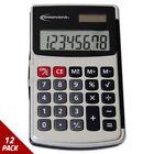 Innovera Handheld Calculator 8-Digit LCD [12 PACK