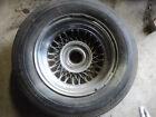 Vintage Jaguar Wire Wheel & Tire