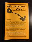 Operators Manual For Whites Industrial PRL-1 Metal Detector