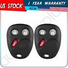 2Pieces Remote Entry Keyless Entry Key Fob Shell Case Pad Fix For Oldsmobile