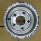 "10"" 10 x 6 5-4.5 RIM WHEEL MORTON SILVER QTY (2) Lawn Garden Mower"