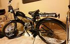 "Motorized Black Aluminum Schwinn Onyx Genesis 29"" Beach Cruiser Bicycle"
