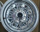 Vintage Wire Basket Spokes & Chrome Wheels - Super Rare!
