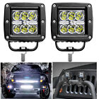 "2pc 18W 3.22"" Led Spot Work Light Cree Motorcycle Driving Jeep Offroad Truck SUV"