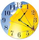 """BEACH UMBRELLA CLOCK - Large 10.5"""" Wall Clock - 2089"""