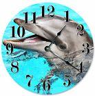 "DOLPHIN Clock - Large 10.5"" Wall Clock - 2080"