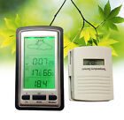 Wireless Weather Station with indoor Outdoor Temperature  Rain Gauge Thermometer