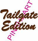 3 TAIL GATE EDITION Coachmen Decal RV sticker graphics trailer  tailgate decals