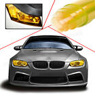 "393"" Tint Headlight Tail Fog Lights Gloss Vinyl Wrap Film Cover Gold Fit Toyota"