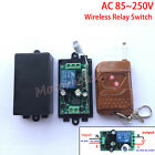 AC110V 220V 230V 10A 1CH RF Wireless Remote Control Receiver Relay Switch On/Off
