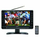 New Supersonic 9-Inch Portable Rechargeable Digital LCD TV Tuner USB/SD Remote