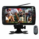 New Supersonic 7-Inch Portable Rechargeable Digital LCD TV Tuner USB/SD Remote