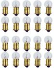 20pcs 57 Miniature Light Bulb Gauge Cluster Instrument Panel 12v G-4.5 BA9s Lot