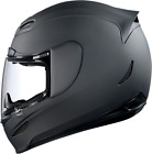 Icon Airmada Rubatone Motorcycle Full Face Helmet Flat Matte Black XLarge XL