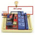 5V DC 4-way Light Lamp Red Controller Switch 433mhz Wifi Remote Control