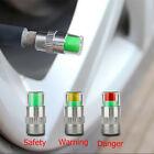 4PCS Auto Car Tire Pressure Monitor Valve Warning Cap Sensor Indicator Eye Alert
