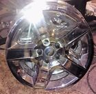 "REDUCED 17"" CHEVROLET CHEVY CAR  4 HUBCAPS SIXIS  SHINY NICE CONDITION"