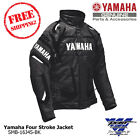Yamaha Men's Black Four Stroke Snowmobile Jacket by FXR SMB-16J4S-BK