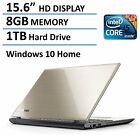 Toshiba Satellite L55 15.6-Inch Laptop Intel Core i5-5200U, 8GB RAM, 1TB HDD, D