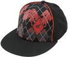 AMA Licensed Apparel Honda Argyle Hat Cap