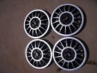 Lot of 4 Chevrolet Double Cross Flag  Hubcap  <See pictures for measurements>