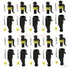 100 Kits 1 Pin Way Sealed IP68 Electrical Wire Connector Plug 1.5mm Terminal