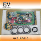 For Mitsubishi K3M full complete gasket kit +K3M cylinder head gasket
