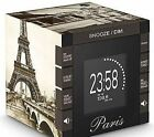 BIGBEN RR70 Paris Brown Pictures Ceiling Projection Radio Alarm Clock Great Gift