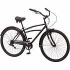 Comfort Bikes For Men Beach Cruiser Women 29 Inch 7 Speed Road Steel Bicycle New