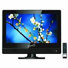 "Supersonic 13.3"" HD LED LCD TV HDTV Television USB Player 12 Volt Car Cord HDMI"