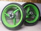 Kawasaki ZX 600R 600 R Front Rear Wheel Wheels Rim Rims and Tires
