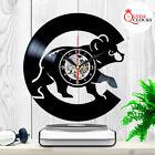 Chicago Cubs Wall Clock World Series Vinyl Record Baseball Home Decor Xmas Gifts