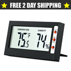 Easy To Read Digital Indoor Humidity Temperature Meter Thermometer Hygrometer