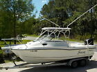 96 HOURS 2005 BOSTON WHALER 235 CONQUEST OFFSHORE SPORT FISHING WALK-AROUND BOAT