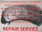 03-07 GMC ENVOY ASCENDER INSTRUMENT GAUGE CLUSTER REPAIR REBUILD FIX 04 05 06
