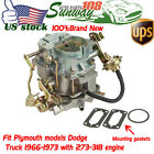 New Fits For Dodge Plymouth Truck 1966-73 273-318 C2-BBD Engine 2BBL Carburetor