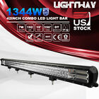 42inch 1344W Philips LED Work Light Bar Spot Flood Combo Offroad Driving 4WD