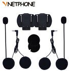 Bluetooth Headset Microphone Headsets Clip Bracket Helmet Intercom Motorcycle