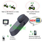 Rider Motorcycle Intercom BT Bluetooth Wireless Interphone Helmet Headset FM New