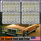 """4""""x6"""" LED Vintage Car Headlight For Ford LTD Crown Victoria Mustang Granada IP68"""