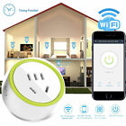 New Mini WiFi Smart Remote Control Timer Switch Power Socket Outlet US Plug APP