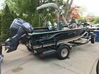 2000 Lund 17 Mr Pike Aluminum Fishing Boat $Lowest Price$