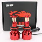 H11 980W 147000LM CREE LED Headlight Kit Low Beam Bulbs 6000K White High Power