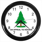 An Appeal to Heaven pine tree flag #D01 Wall Clock